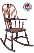 Lancashire Double Bow Rocking Chair