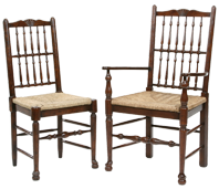 Spindle Back Dining-Chair