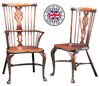 Cabriole Leg Fanback Georgian Windsor Chair