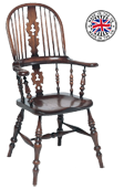 Lancashire Broardarm Windsor Armchair