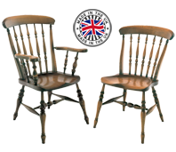 Roman Spindle Windsor Chairs