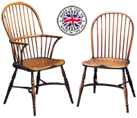 Stick Back Windsor Chairs